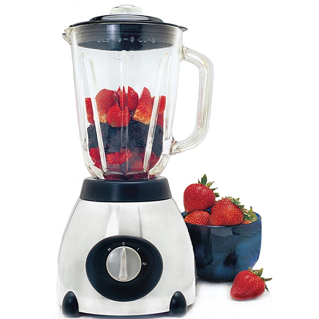 Cyclonic Stainless Steel Glass Jar Blender