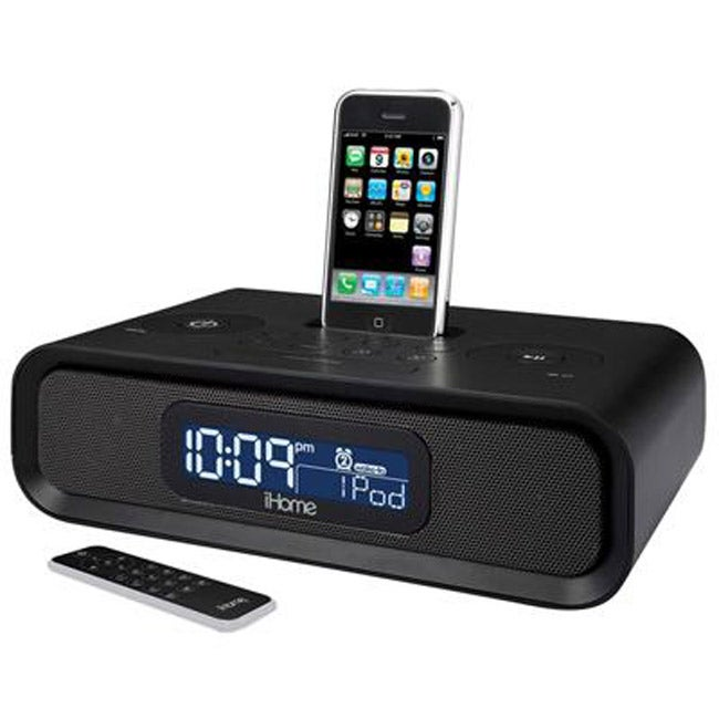 SDI Technologies iP99B Clock Radio for iPod/ iPhone