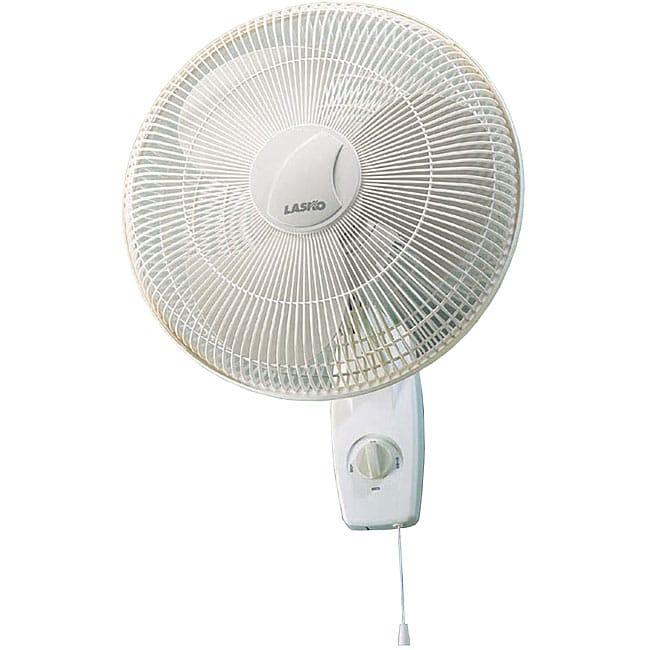 Lasko Fan Oscillating Wall Mount : Lasko inch oscillating wall mount fan free shipping