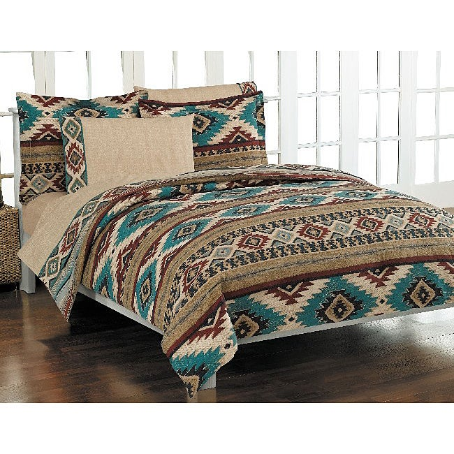 Shop Sedona Southwest 7 Piece Bed In A Bag   Free Shipping Today    Overstock   3288809