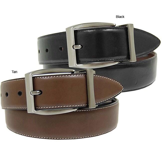 Geoffrey Beene Men's Reversible Belt