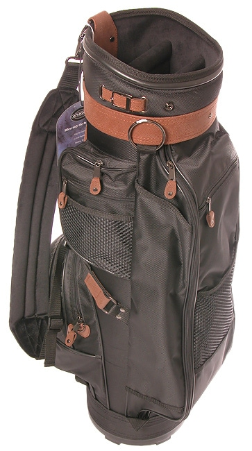 Knight Black/Brown Luxurious 1078 Golf Bag