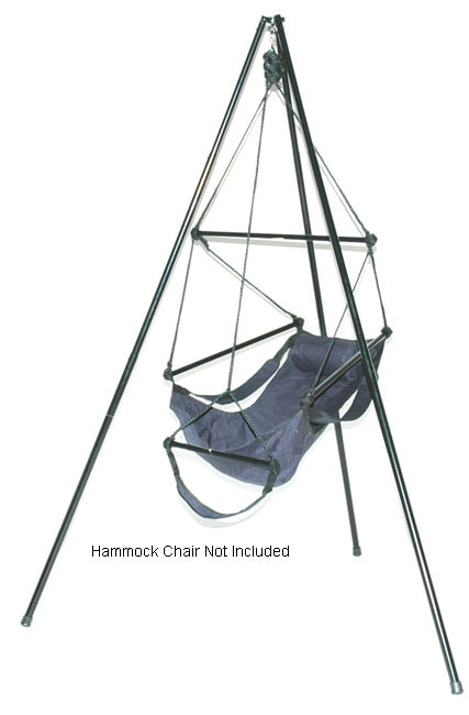 Portable Tripod Hanging Chair Stand - Thumbnail 0
