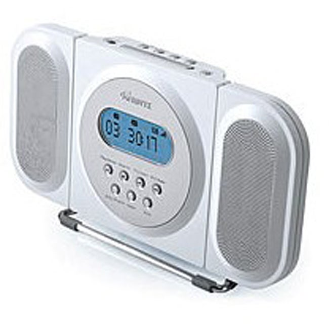 memorex mc7100 cd clock radio with digital tuner free shipping on orders over 45 overstock. Black Bedroom Furniture Sets. Home Design Ideas