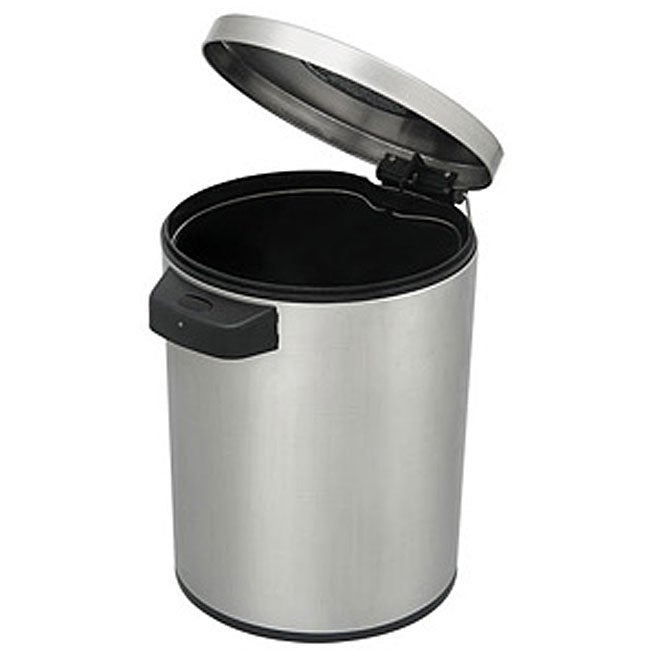 Stainless Steel Motion Sensor 1 3 Gallon Trash Can Free