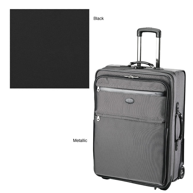 c1c79a77d01c Shop Pathfinder Revolution LT 26-inch Expandable Trolley with Suiter-Black  - Free Shipping Today - Overstock - 3301966