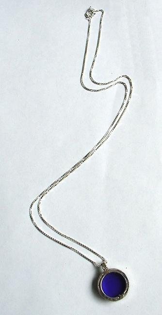 Blue Onyx Necklace (Israel)