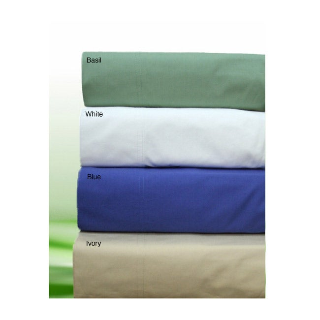 Stretch Pocket 240 Thread Count Cotton Sheet Set