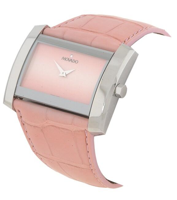 Movado Eliro Women's Faded Pink Dial Watch