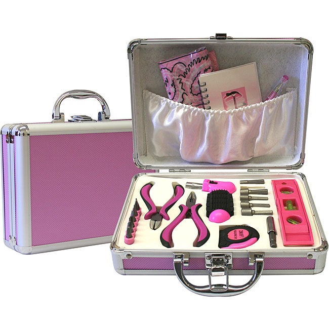 Women 39 s 21 piece tool set free shipping on orders over for Garden tool set for women