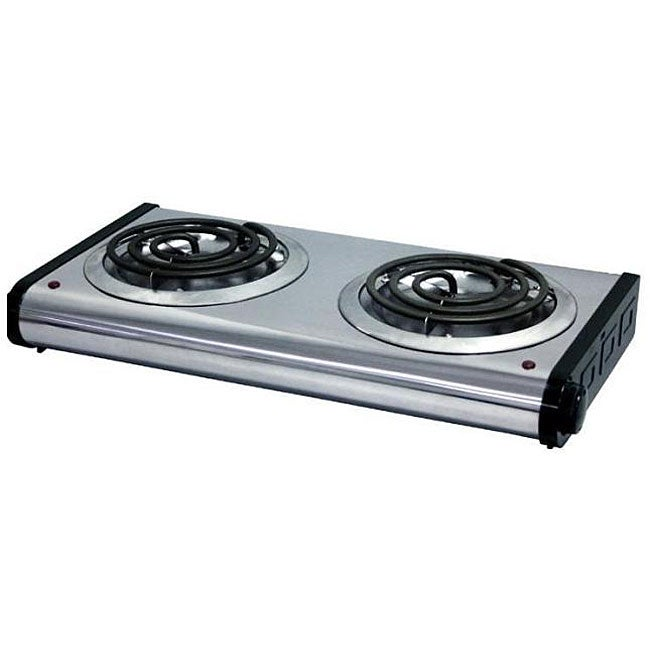 Portable Two Burner Electric Stove Free Shipping On