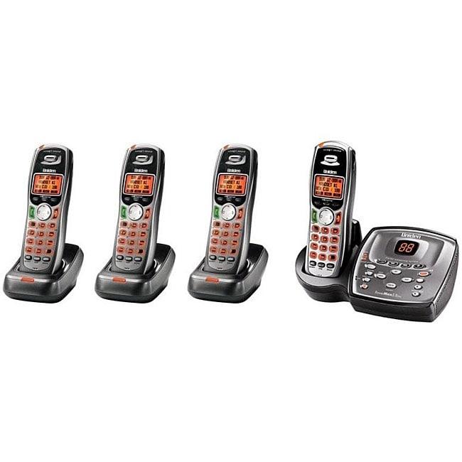 Uniden TRU9480-4 5.8 GHz Cordless Phone Set (Refurbished)