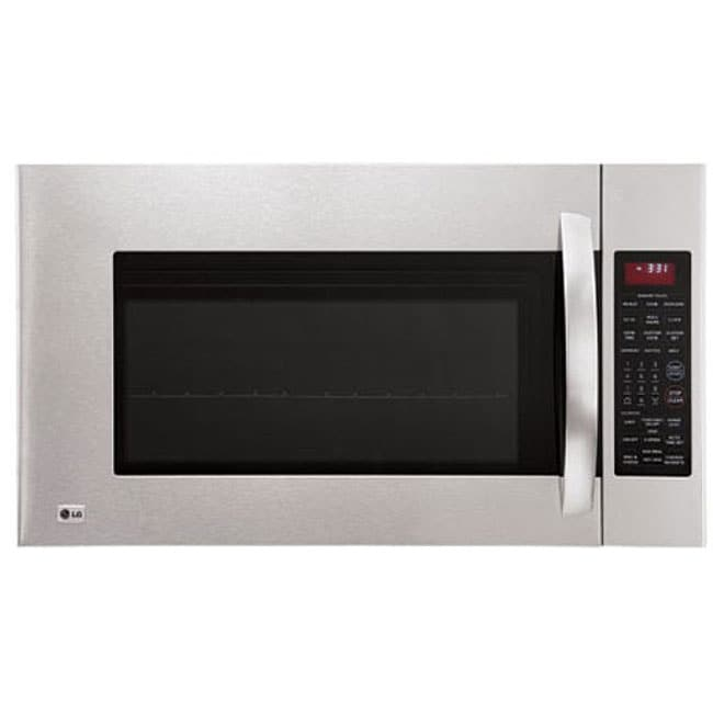Shop Lg 1100 Watt Over The Range Microwave Oven Free