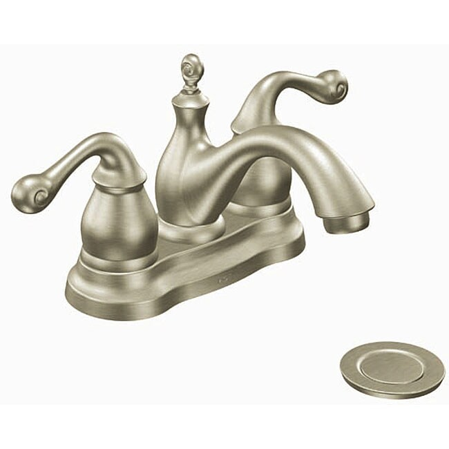 Moen Belden Brushed Nickel Bathroom Faucet Free Shipping
