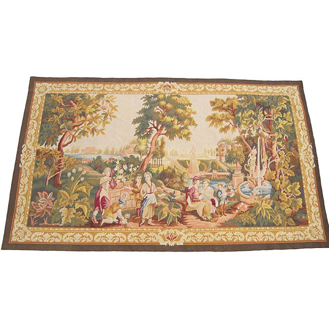 Chinese French-style Rug (4'4 x 7')