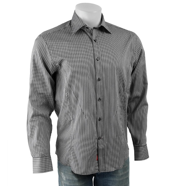 d1712dd4b869 Shop Report Collection Men's Slim Fit Long-sleeve Shirt - Free Shipping On  Orders Over $45 - Overstock - 3324673