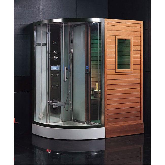 ariel platinum steam showerdry sauna combo unit