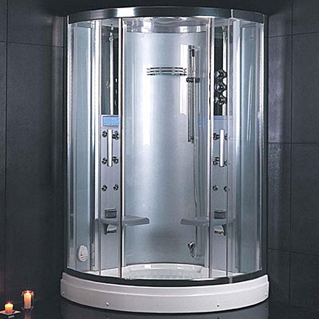 Ariel Platinum (White) Steam Shower