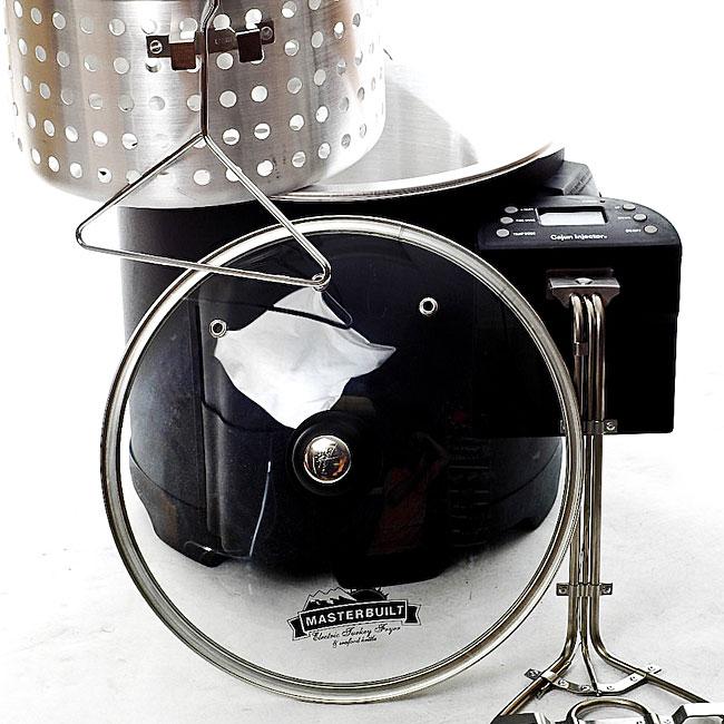 Cajun Injector Masterbuilt Electric Fryer Kit Free