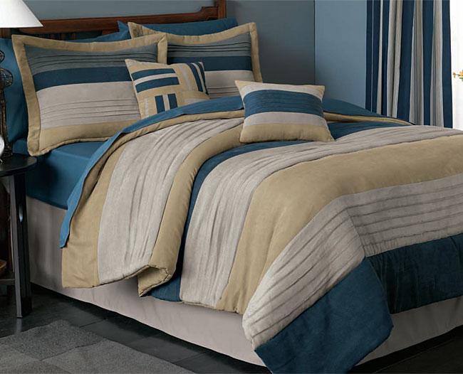 Springfield Microsuede 4-piece Comforter Set