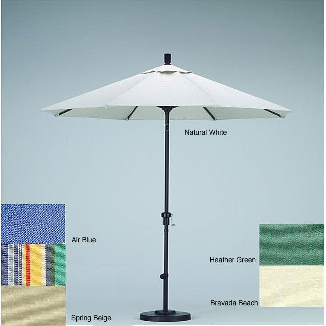 sunbrella aluminum tilt umbrella with stand