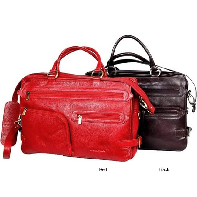 Women's Leather Business Briefcase