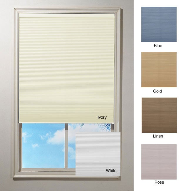 Cordless Honeycomb Cellular Window Shade (64 in.) - Thumbnail 0