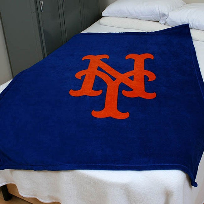 MLB Triple Crown New York Mets Throw Blanket