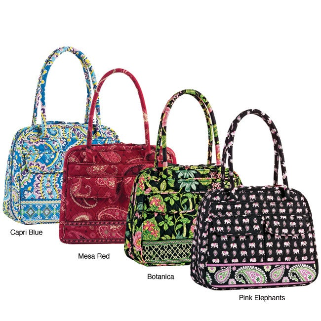 4d5a4a9319a22 Shop Vera Bradley Bowler Women s Handbag - Free Shipping On Orders Over  45  - Overstock - 3356947