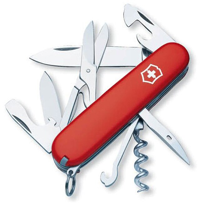 Swiss Army Climber Eurosport 15-tool Pocket Knife