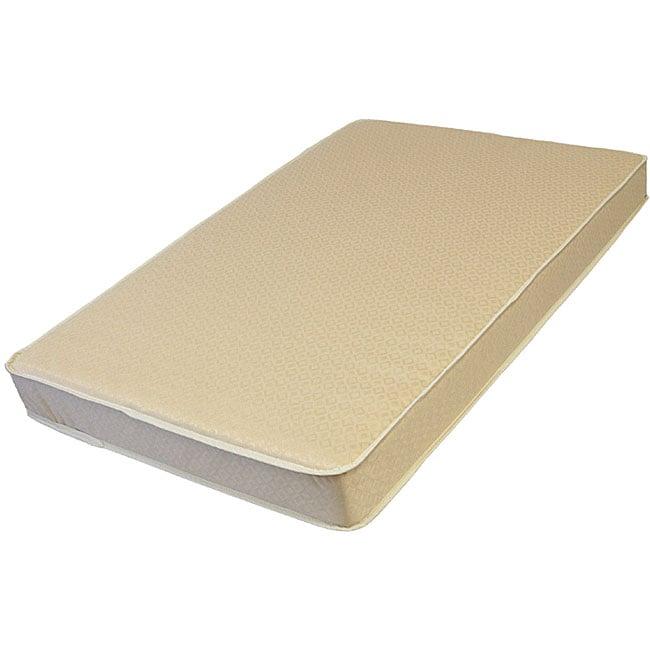 LA Baby 2-inch Mini/ Portable Crib Mattress with Cotton L...