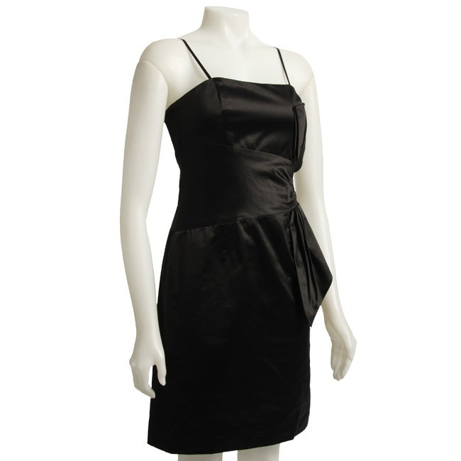 Max & Cleo Women's Vintage-inspired Satin Dress