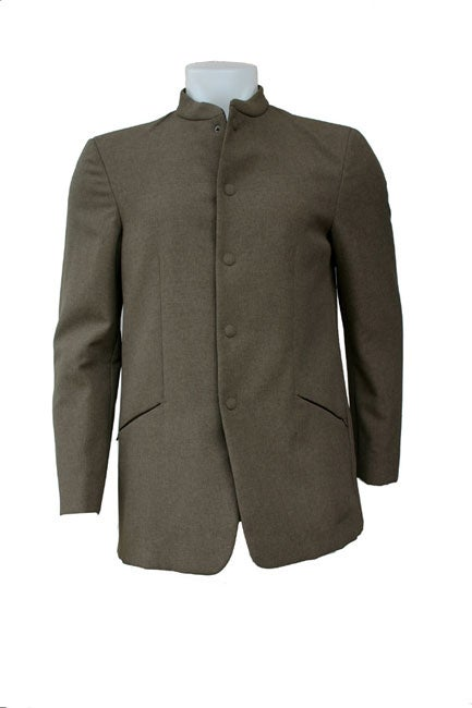 5d91ed8438 Emporio Armani Men's Banded Collar Jacket