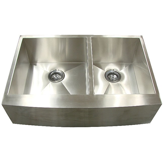 Stainless Steel Apron : Undermount Stainless Steel Apron Kitchen Sink - Free Shipping Today ...