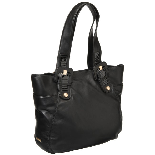 Perlina Leather Tote