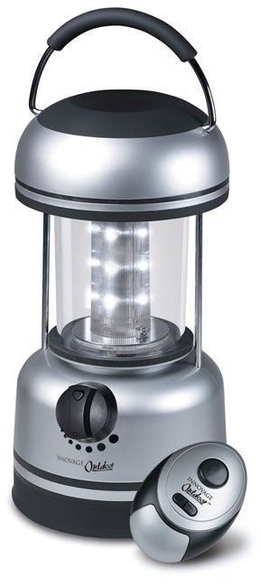 Innovage 12-LED Lantern with Remote Control Dimmer