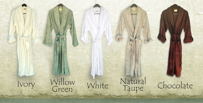 Rayon from Bamboo Bathrobe