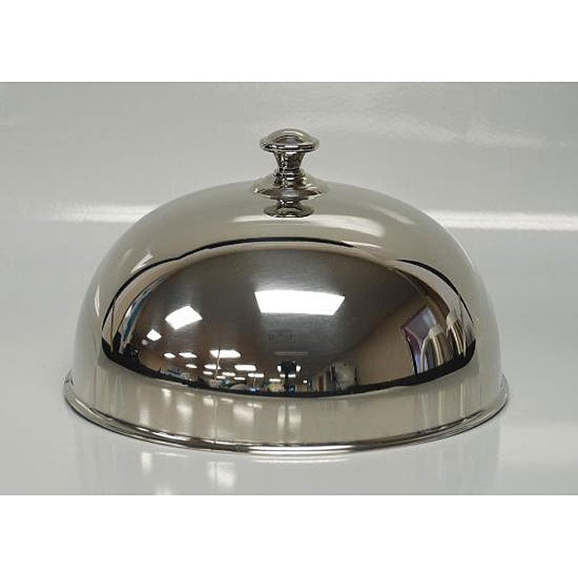 Oneida Jazz Stainless Steel Dome Plate Covers Set Of 5