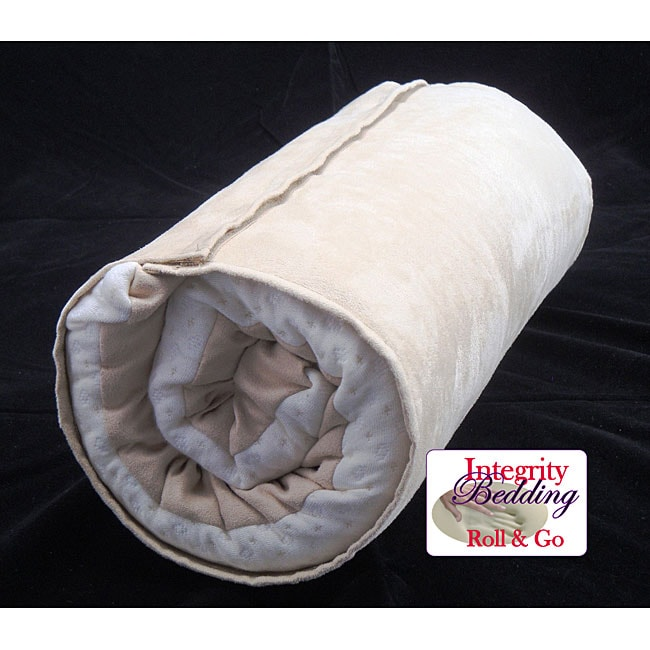 Italian Memory Foam Travel Pillow with Aloe Vera Cover