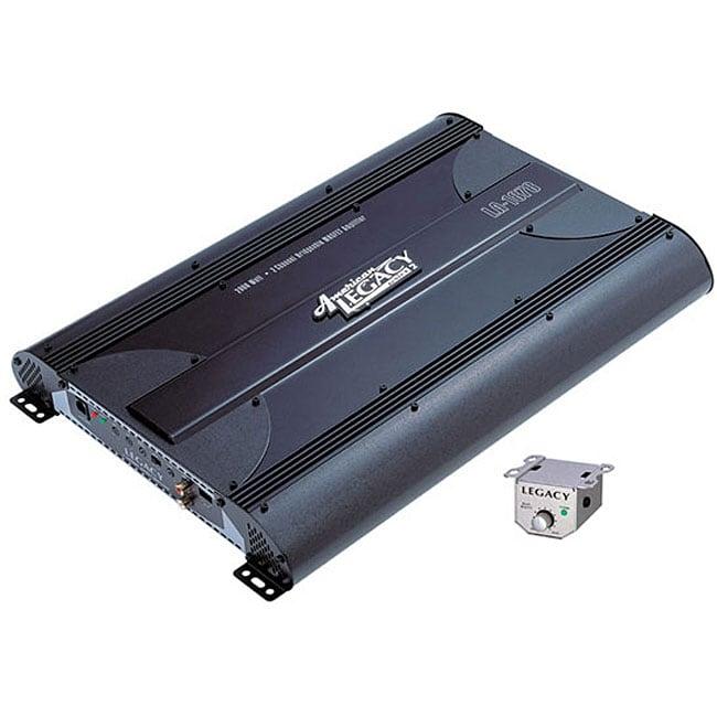 Legacy 2000-watt 2-channel Bridgeable Mosfet Amp