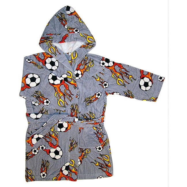 Children's Fire Soccer Robes (Set of 2)