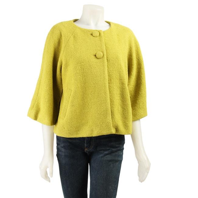 Spense Women's 3/4-sleeve Cropped Jacket