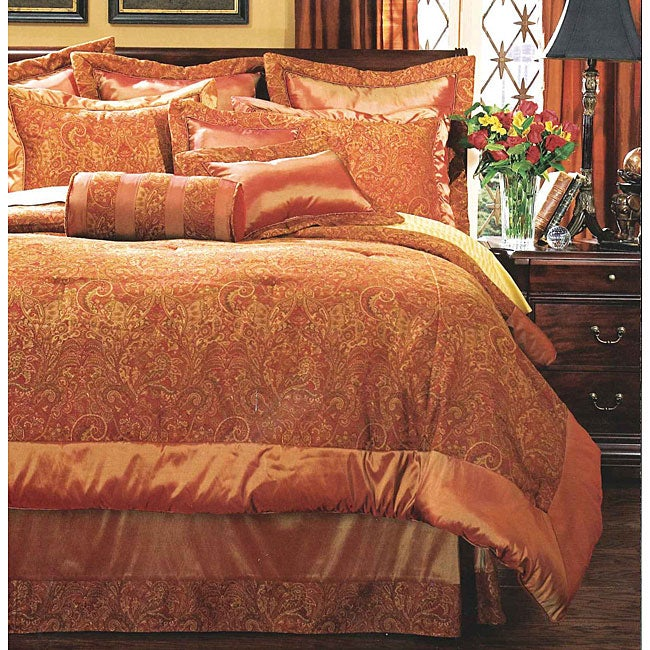 Kashmir by DreamFit 10-piece Oversized Comforter Ensemble
