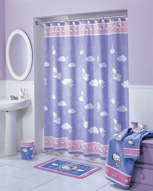 Shop Hello Kitty Sweet Dreams Shower Curtain And Hook Set