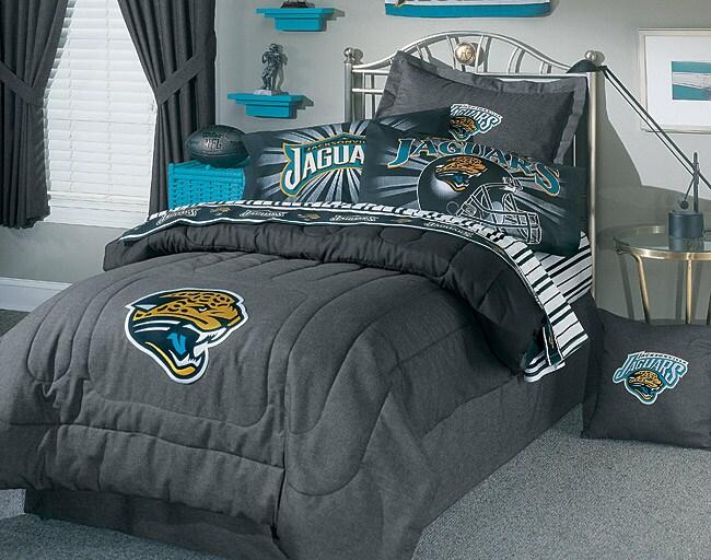 Thumbnail NFL Jacksonville Jaguars Comforter Set (Full)