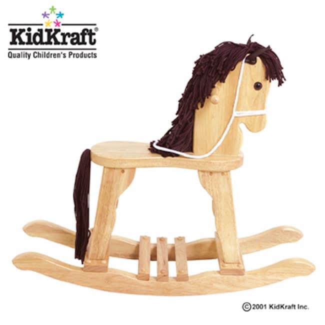 Pine Rocking Horse