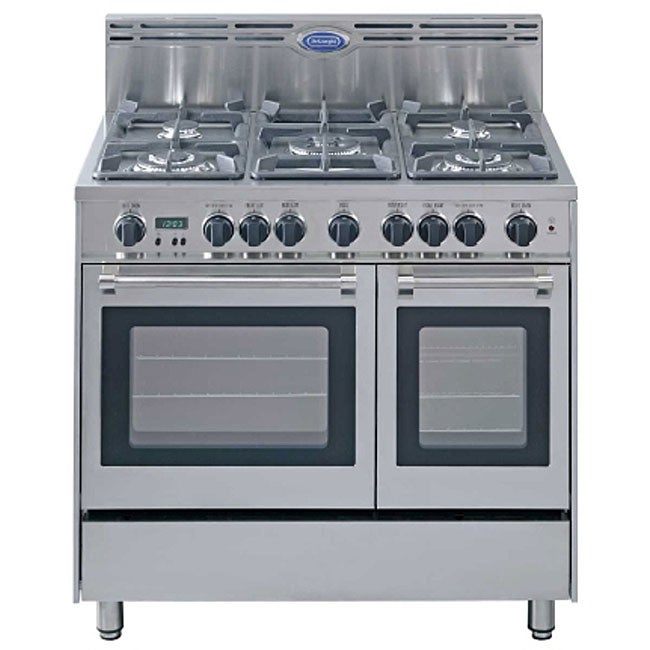 Delonghi Stainless Steel 36 Inch Gas Range Free Shipping