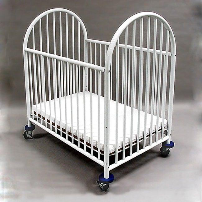 la baby mini portable crib with mattress free shipping today 11477723. Black Bedroom Furniture Sets. Home Design Ideas