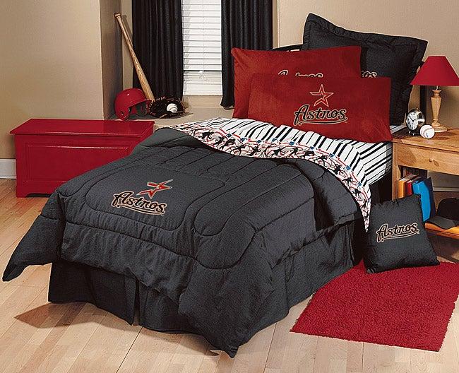 Mlb Houston Astros Comforter Set Queen Free Shipping