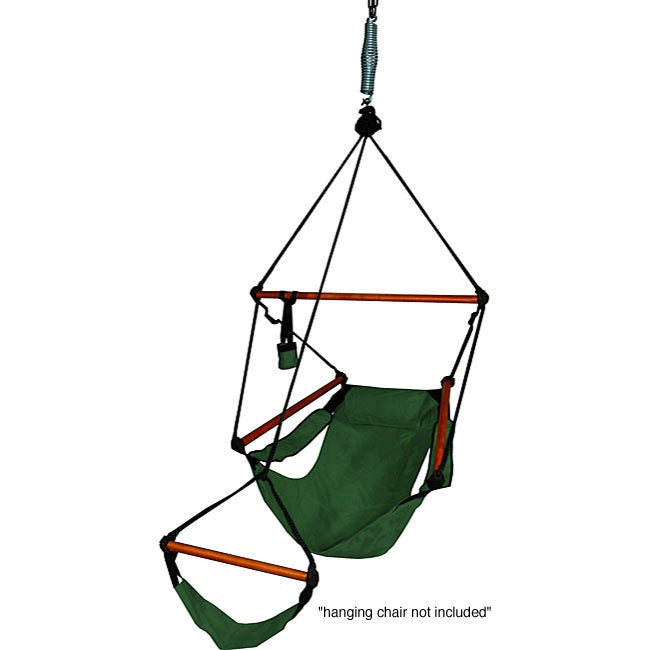Hammock chair spring and swivel set pair free shipping for Hanging chair spring